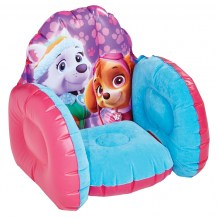281PWP-Product Feature-Paw Patrol Skye & Everest Inflatable Chair-3