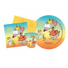 Ensemble de fête - Toupie et Binou / Birthday Kit - Toopy and Binoo