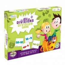Collection Apprendre - Les divisions boîte / Learn Collection - Division Game box