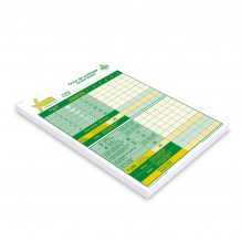 Yum pad de pointage / Yum score sheet pad