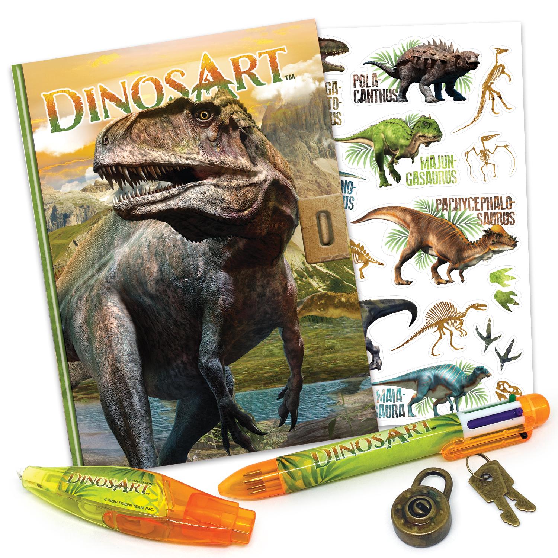 Journal intime DinosArt - Contenu