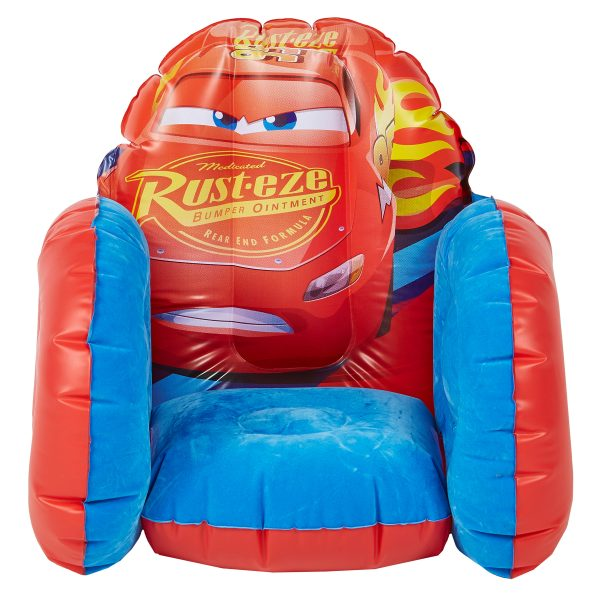 281CAA-Lead Product Image-Disney Cars Inflatable Chair
