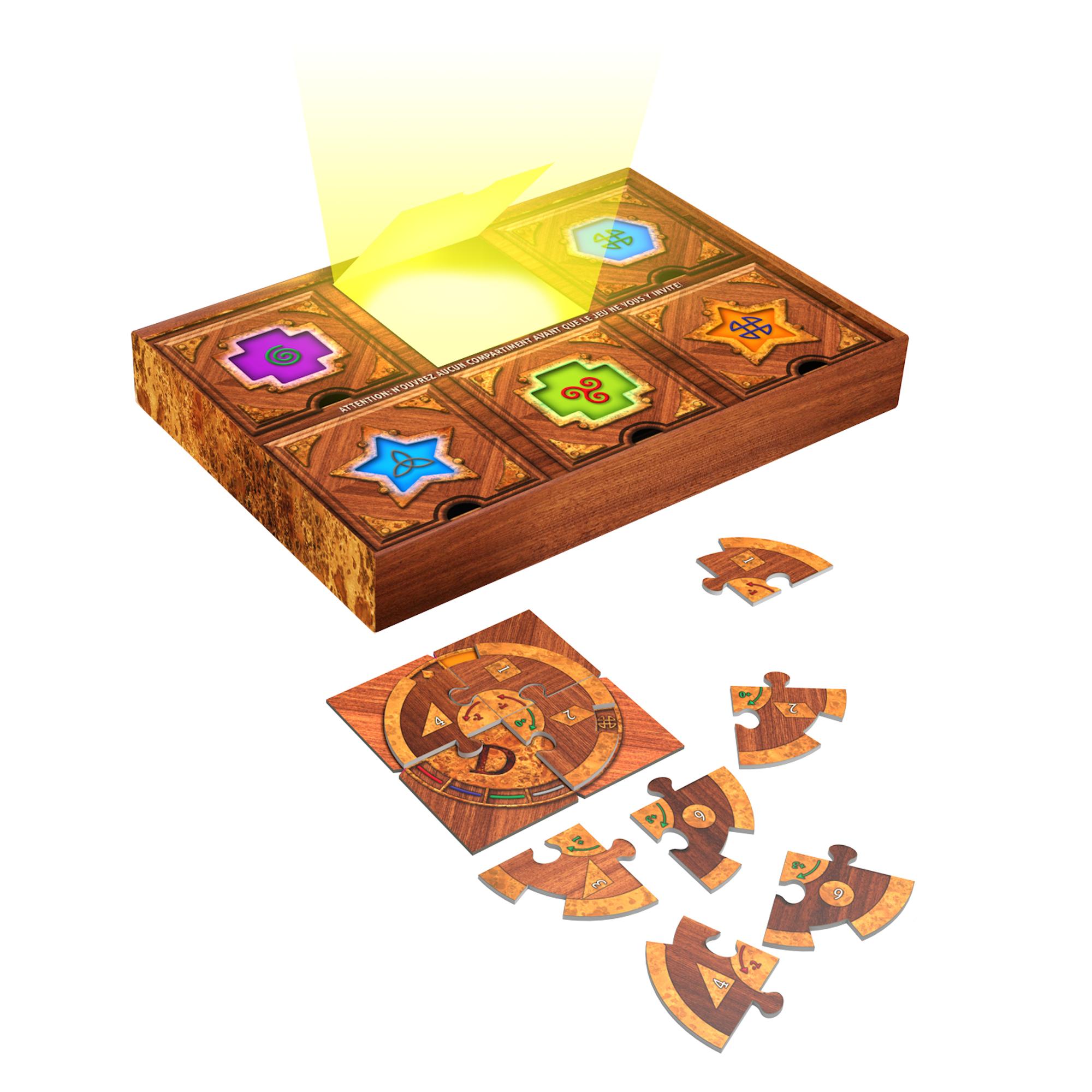 5271 Puzzle SecretScientifique Contenu