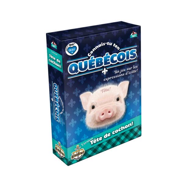 Connais-tu ton québécois - Tête de cochon!