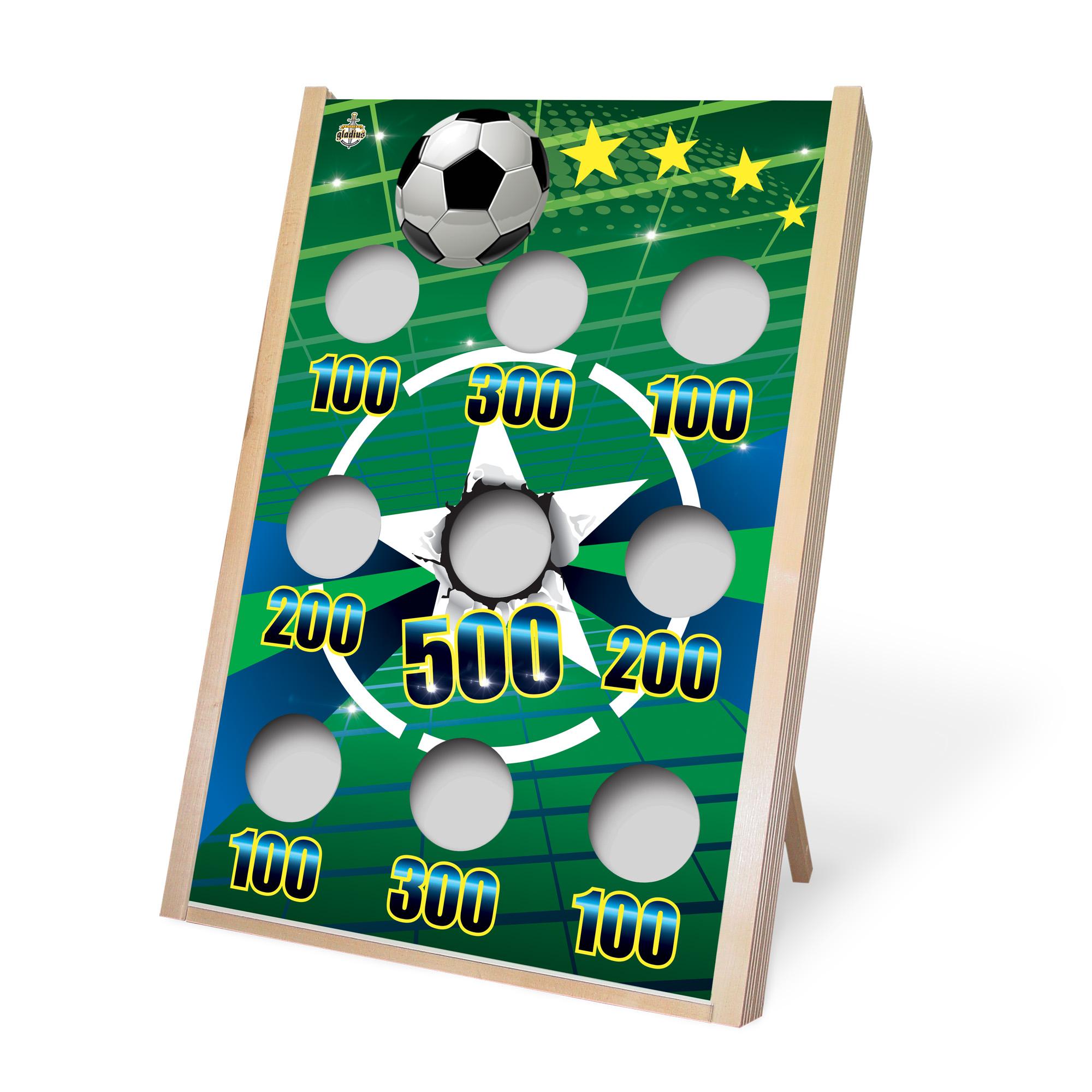 Jeu de poches - Planche soccer